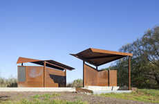 Bird-Watching Pavilions