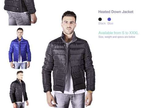 App-Controlled Heated Jackets - These Heated Jackets are Controlled by One's Smartphone