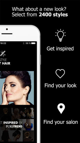 Hairstyle-Previewing Apps - The Style My Hair App Allows Users to Give Themselves a Virtual Makeover