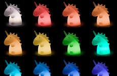 Mystical Unicorn Lamps