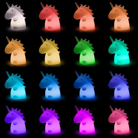 Mystical Unicorn Lamps - These Unicorn Lights Change Colors with the Click of a Remote