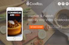 Video-Based Recipe Apps - The CookReel Platform Allows Users to Upload Video Recipes