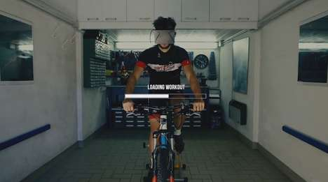 VR-Powered Bike Trainers - This Gamified Cycling Platform Lets Users Experience Adventure Indoors