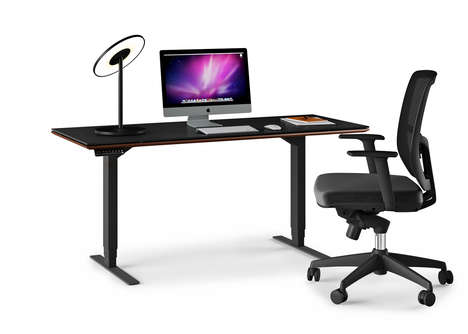Sleek Adjustable Desks - The SEQUEL LIFT DESK is a Smart Solution for the Modern Workplace