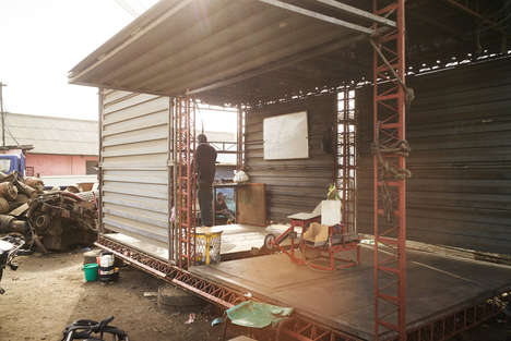 Micro Industrial Eco-Shops - These 'Makerspace' Structures in Ghana Will Re-purpose 'E-Waste'