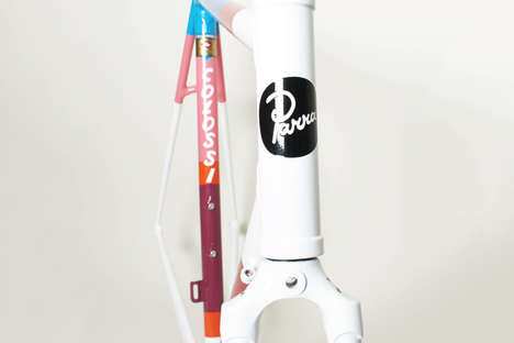 Cartoon Custom-Made Bikes - The Piet Parra Bikes are Made-to-Order With Micro-Fusion Lugs