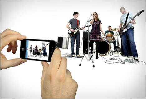 Recording Smartphone Microphones - The iRig Mic Turns a Cellphone into a Music Instrument