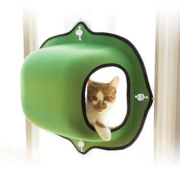Windowsill Cat Pods - The EZ Mount is a Hanging Feline Bed Designed for the Window