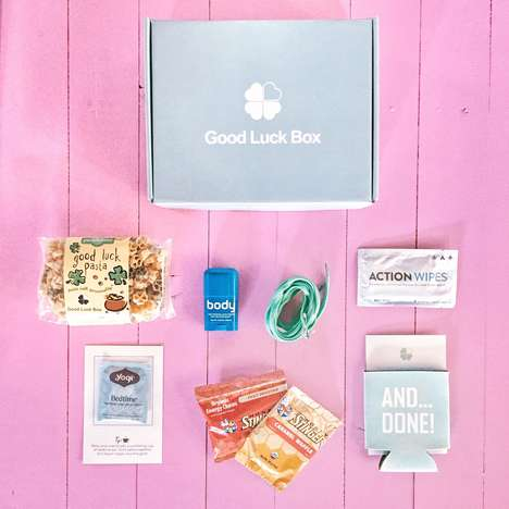 Athletic Subscription Boxes - The Good Luck Box is Fitted With Treats Geared Towards Avid Runners