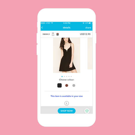 Swipeable Shopping Service - Mallzee Allows Consumers to Browse Through Clothes Like a Dating App