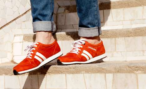Directional Shoe Designs - The easyJet 'Sneakairs' were Unveiled at the Barcelona Street Project