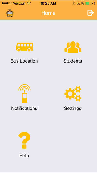 School Bus-Tracking Apps - The Here Comes the Bus App Helps Parents Get Their Children to School