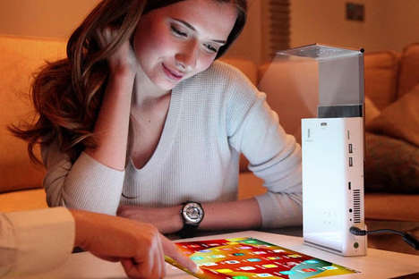Mini Touchscreen Projectors - This Mini Projector Can Change Anything into a Touchscreen Surface