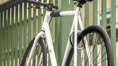 Automated Bike Lock Systems - The 'I LOCK IT' System Renders a Bicycle Locked When the Rider Leaves