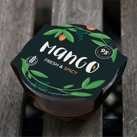 Spicy Mango Dips - Frutas Montosa's Dip is Made with 95% Fresh Fruit Ingredients