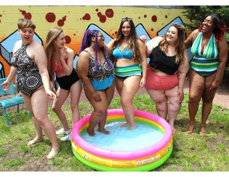 Size-Inclusive Swimwear Collections - SmartGlamour's New Swimwear Line Comes in a Range of Sizes