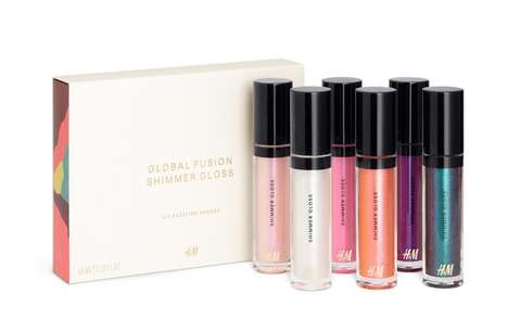 High-Fashion Beauty Collections - The Global Fusion Collection from H&M Features Daring New Hues