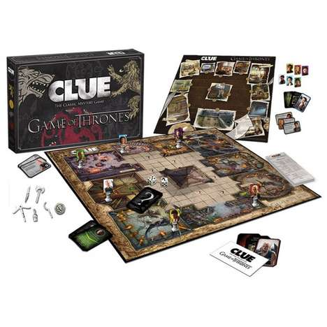 Murderous Fantasy Board Games - The Game of Thrones Clue Game Focuses on Treachery and Deceit
