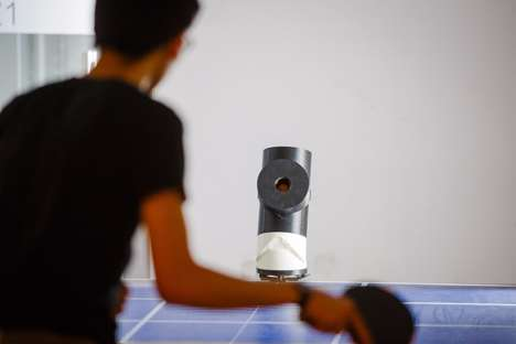 Ping Pong Training Robots - The 'Trainerbot' Helps Ping Pong Enthusiasts Practice Solo