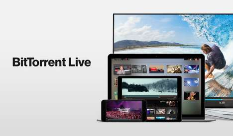 Peer-to-Peer Livestreaming Apps - The BitTorrent Live App Turns All Viewers into Broadcasters