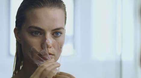 Parody Promotion Videos - Actress Margot Robbie Parodies 'American Psycho' for Vogue