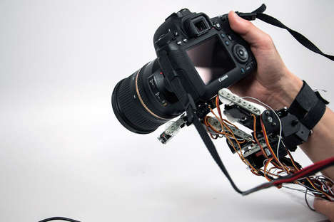 Wrist-Worn Robotic Hands - The Robotic Symbionts Gives Consumers an Extra Functional Limb