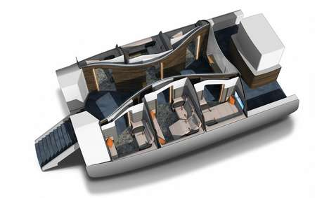 Hotel-Like Airplane Cabins - First Spaces Brings Additional Luxury to the Idea of First Class