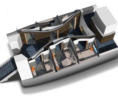 Hotel-Like Airplane Cabins