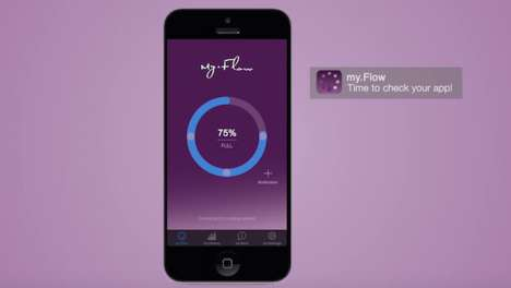 Bluetooth Feminine Hygiene Products - 'my.Flow' is a Tampon That Sends Updates and Reminders