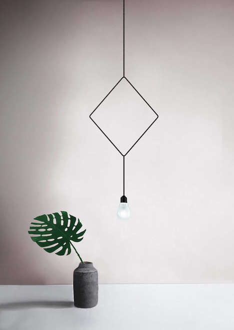 Minimalist Geometric Lamps - These Minimalist Lamps Can Give Any Room a Sophisticated Look