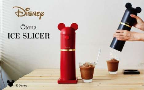 Cartoon Character Ice Crushers - The Doshisha Disney Ice Crusher is Licensed from Disney Japan
