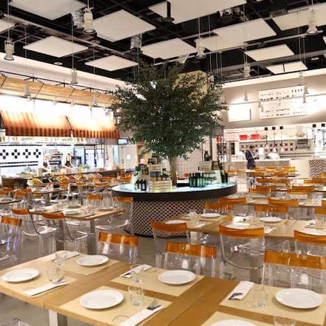 Sprawling Korean Dining Concepts - This Marketplace Gives Consumers a Place to Shop, Eat and Learn
