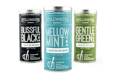 Functional Marijuana Tea Packaging - The Stillwater Marijuana-Infused Tea Packaging is All-in-One