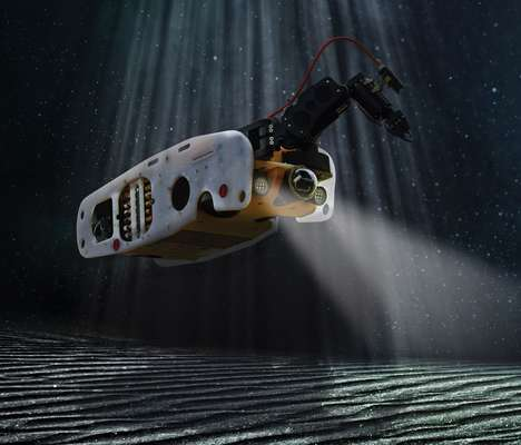 Underwater Safety Robots - The Sea Wasp is a Robot That Finds and Disables Underwater Explosives