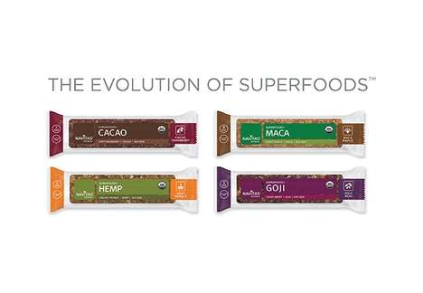 Superfood Snack Bars - Navitas Naturals' Superfood+ Bar Products Boast Nutrient-Dense Ingredients