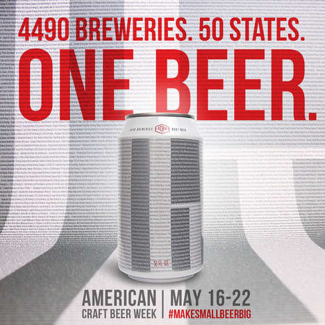 Collaborative Craft Beers - 4,490 Craft Brewers Came Together to Celebrate American Craft Beer Week