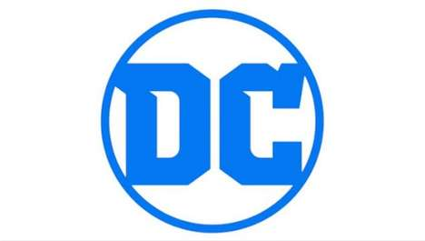 Revitalized Superhero Logos - The New DC Logo Pays Tribute to the Company's Legacy