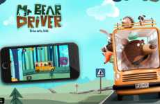 In a Moving Car, 'Mr. Bear Driver' Teaches Kids to Follow Traffic Rules