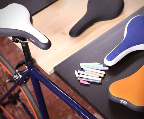 Portable Theft-Proof Saddles - The Ta+Too Bike Seat Accessory Detaches to Prevent Stealing