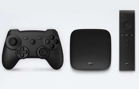 Mobile Platform TV Boxes - The Xiaomi Mi Box Android TV Box Provides Users with 4K Support