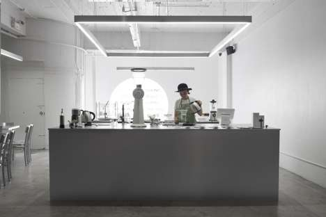 Aluminum Cafe Pop-Ups - The Hands & Heart Cafe is Located Inside Bangkok's Freitag Pop-Up