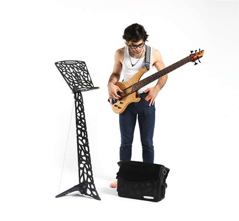 Modular Music Stands - The 'Senstand' Converts into a Bevy of Different Standing Units