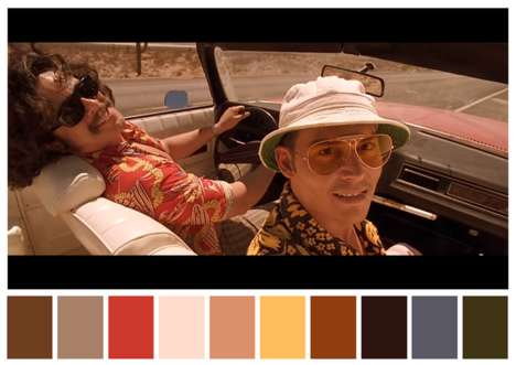 Movie Scene Color Palettes - This Twitter Account Creates Color Palettes for Film Scenes