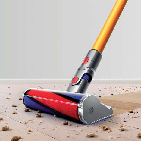 Long-Lasting Cordless Vacuums - The Cord-Free Dyson V8 Absolute Boasts 40 Minutes of Vacuuming Time