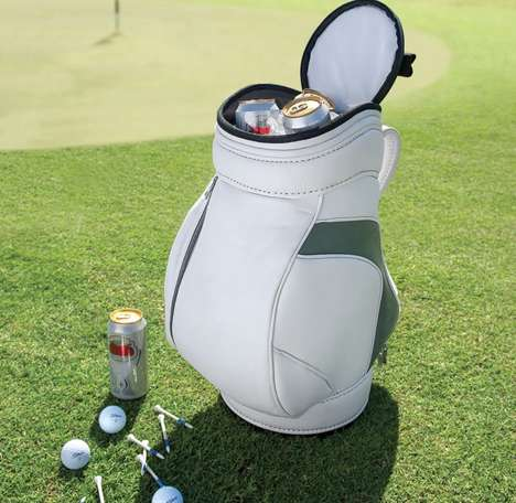 Discreet Golfer Drink Coolers - This Golf Portable Cooler Conceals Drinks from Players and Staff