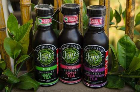 Medicinal Cannabis Beverage Packaging - The House of Jane Cannabis Bottled Beverages are Secure