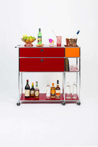 Modular Bar Carts - Usm Modular Furniture Has Created Limited Edition Bar Carts