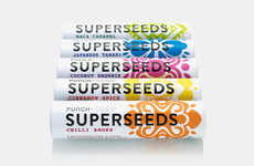 Convenient Seed Snack Packaging - The Punch Foods Superseeds Organic Seed Snacks are Scrumptious