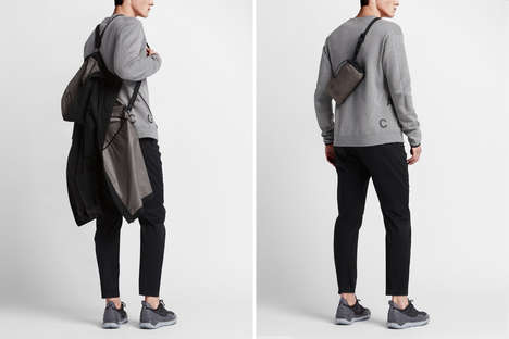 Weather-Resistant Men's Clothing - NikeLab's Men's Athletic Clothing Line Blends Style and Function