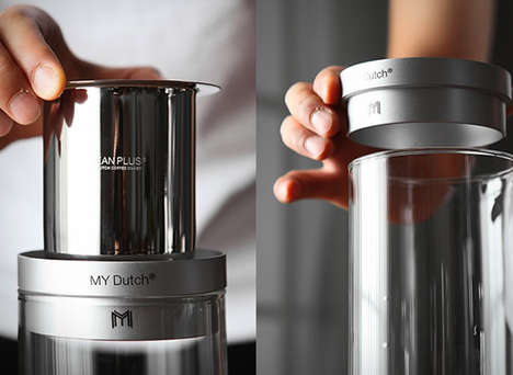 Cold Brew Machines - The 'My Dutch' Coffee Maker Lets Consumers Steep Cold Brew At-Home